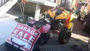 Two four wheelers for sale
