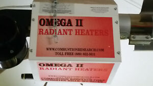 Garage large gas heater