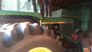 1983 John Deere 4650 Tractor w/ duels and plow Strathcona County Edmonton Area image 4