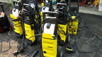 15 electric pressure washers -package