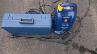 FAIP Pressure Washer with All Attachments