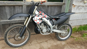 2003 Cr250r with registration