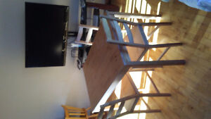 Kitchen table and chair set
