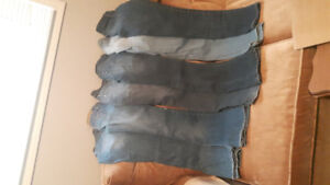 JEANS  SIZE 00/ 6 PAIRS