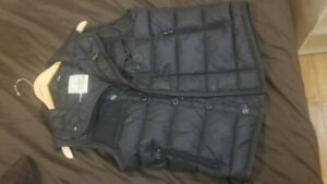 Moncler Sz1 Mens Vest Black Label