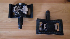 Shimano SPD Cleats Clip-In / Flats (SM-PD22)  Bicycle MTB Pedals