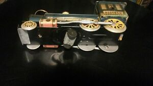Tin Litho Western Train Engine London Ontario image 4