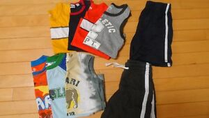 boys size 4 tops/shorts