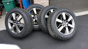 "20"" ford f150 rims and tires"