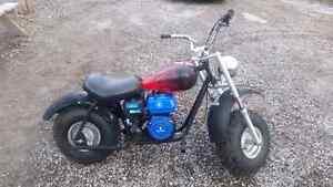 Baja mini bike ready to ride....
