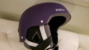 Women's Size Small Red Helmet