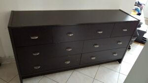 Seven Drawers Dresser For Sale $75.00.