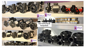 Hot Tub Pumps/Parts/Chemicals/Filters- www.olue.ca - Low Prices!