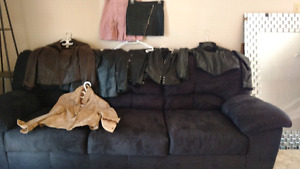 Leather & Suede Jackets Chaps Vest and Skirts