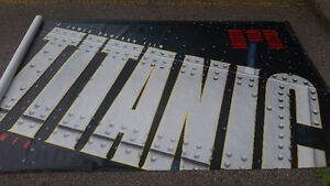 Super HUGE awesome vinyl Collide With Destiny Titanic Banner!!!!