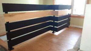 Fabricant escalier et rampe bois, verre, stainless ,métal