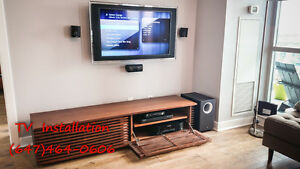 Professional Home Theater & TV installation starting from $49.99