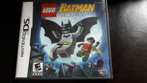 Batman The Video game Lego (Nintendo DS, 2008) COMPLETE WITH MAN