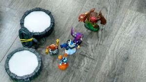 Nintendo Wii + 270 Wii games + Skylanders