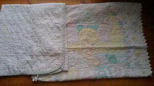 Precious Moments baby blanket