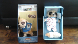Compare the meerkat toys, Bogdan, Oleg and Sergei as Obi-Wan-Kenobi
