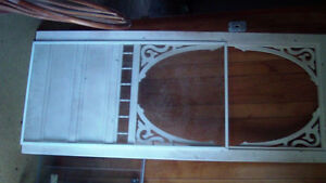 Antique Natural & White Painted Doors from 1700's Farmhouse. London Ontario image 10
