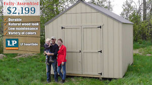 OTTAWA BACKYARD STORAGE SHEDS - STARTING FROM $2,199
