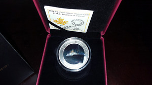 2014 - 50 Cent Silver Plated Coin - RMS Empress of Ireland