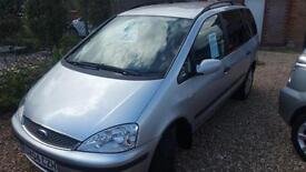 2004 Ford Galaxy 1.9TDi ( 130ps ) 3 red TDI 7 SEATER ESTATE low miles