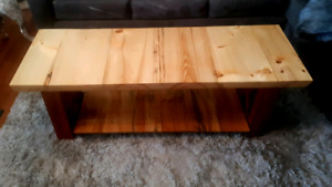 Wooden Coffee Table / Bedside Bench