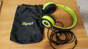 Monster iSport Bluetooth headphones