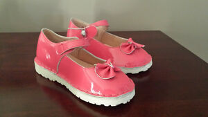 Girls Size 11 Pink/Rose Dress Shoes