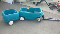 Fisher Price Wagon with Caboose