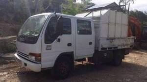 Isuzu NPR 300 Tipper Truck with Removable Mulch Bin Yatala Gold Coast North Preview