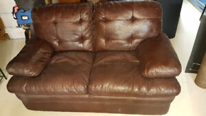 Sofa Divan (2 Places - Simili Cuir)