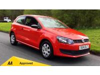 2014 Volkswagen Polo 1.2 60 S 3dr Manual Petrol Hatchback
