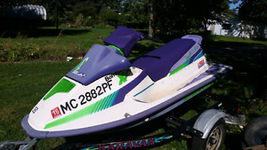 1991 seadoo xp project runs with trailer