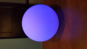 Lampe d'ambiance LED sans fil étanche.
