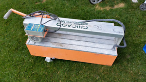 Chicago electric commercial tile saw