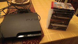 Playstation 3 and 12 games