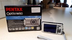 Pentax Optio W80 Digital camera.