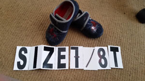 Size 7-8  , Spiderman Kids shoes , good condition $5