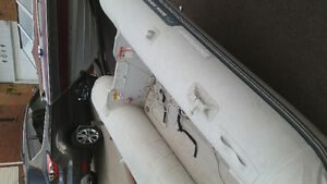 Inflatable boat 10.6ft with 9.9 engine