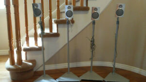 4 Philips Speakers with Stand $20.00