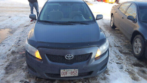 2009 Toyota corolla. Price reduced