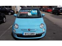2013 FIAT 500 1.2 Lounge Start Stop From GBP6,995 + Retail Package