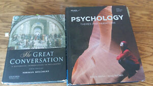 Philosophy and psychology textbooks
