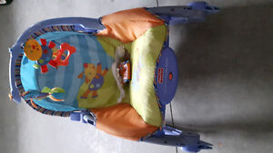 newborn to toddler rocker and vibrate