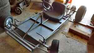 5.5hp Go Kart - home made frame - Price Drop from $750 -