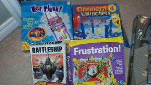 Assorted games and building sets